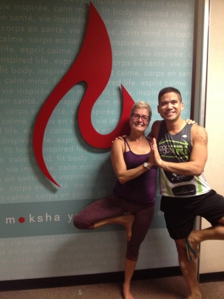 Renee and I post class! THANK YOU for all your support