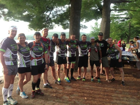 Some of the GGT team- pre I2P race on Aug 25